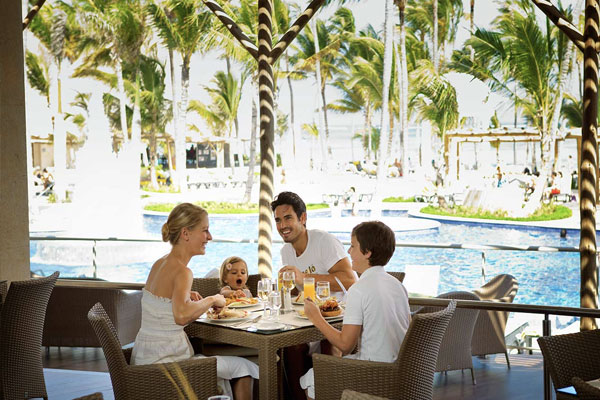 Restaurant - Family Club at Barceló Bávaro Palace - Punta Cana, Bavaro Beach, Dominican Republic